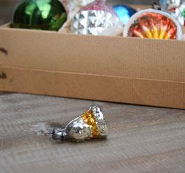 Feathertree klokje, zilver/goud