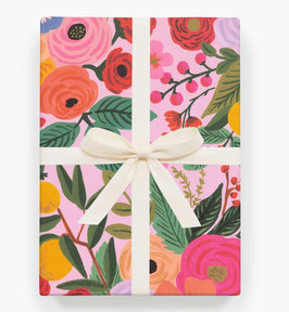 Rifle Paper Co. Gift wrap 'Garden party'