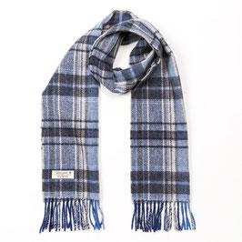 John Hanly sjaal, blauwgrijs/beige