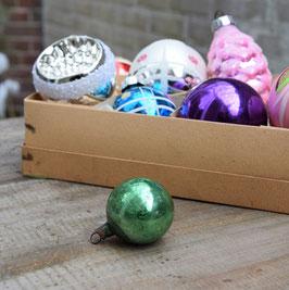 Feathertree kerstbal mintgroen