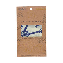 Bee's Wrap, assorted 3 pack, Bee's & Bears