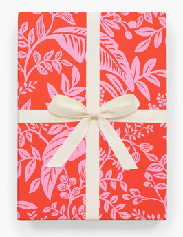 Rifle Paper Co. Gift wrap 'Canopy neon'