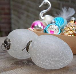 Heksenballen melkglas, set van 2