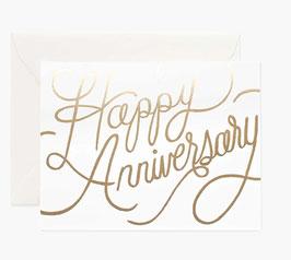 Rifle Paper Co. Wenskaart 'Happy Anniversary'