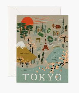 Rifle Paper Co. Wenskaart 'Tokyo'