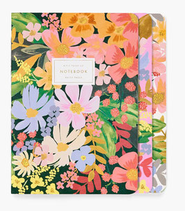 Rifle Paper Co. Stitched notebook set 3 'Marguerite'