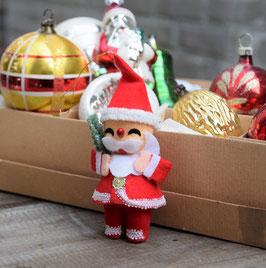 Kerstman stof