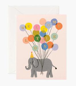 Rifle Paper Co.  Wenskaart 'Welcome elephant'