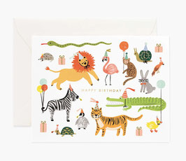 Rifle Paper Co. Wenskaart 'Party Animal'