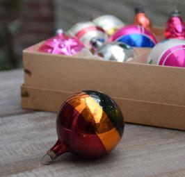 Kerstbal multigekleurd
