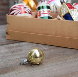 Feathertree kerstbal goud