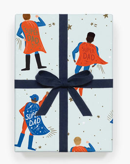 Rifle Paper Co. Gift wrap 'Super dad'