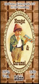 Nougat & Caramel Likör