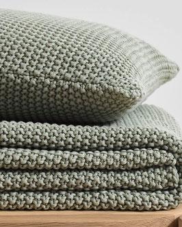 Plaid Nordic knit.
