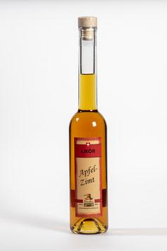 Apfel-Zimt-Likör - Liqueur pomme cannelle