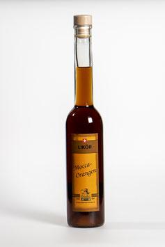 Mocca-Orangen-Likör - Liqueur d'oranges au moka