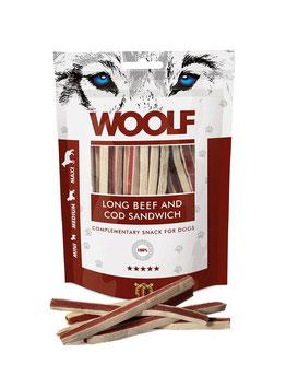 WOOLF Weiches Rind und Kabeljau Sandwich