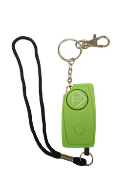 KH-Security Schlüsselalarm 24/7 120 dB Grün