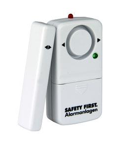 Safty First Fensteralarm Premium 120 dB weiß