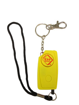 KH-Security Schlüsselalarm 24/7 120 dB Gelb