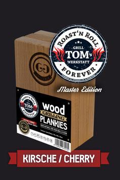 3 Wood Grilling Plankies / Kirsche / Tom Heinzle Edition