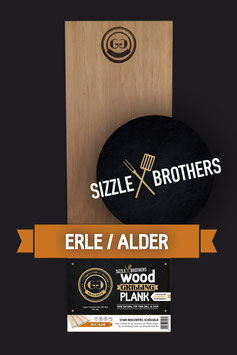SizzleBrothers Wood Grilling Plank by Grillgold / Erle