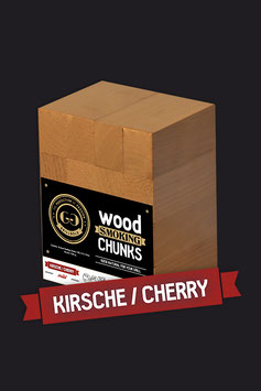 16 Wood Smoking Chunks / Kirsche