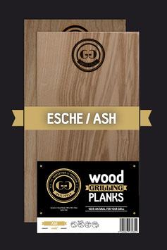 2 Wood Grilling Planks / Esche