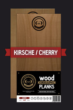 2 Wood Grilling Planks / Kirsche