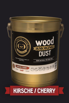 Wood Smoking Dust / Kirsche / 2 Liter