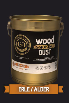 Wood Smoking Dust / Erle / 2 Liter