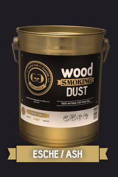 Wood Smoking Dust / Esche / 2 Liter