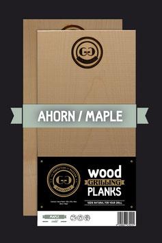 2 Wood Grilling Planks / Ahorn