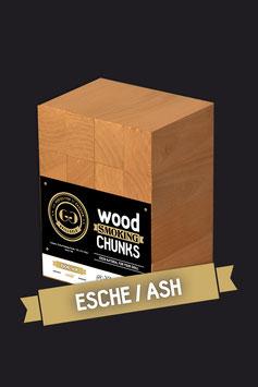 16 Wood Smoking Chunks / Esche