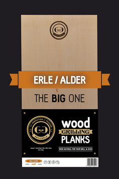 "Wood Grilling Plank ""The Big One"" / Erle"