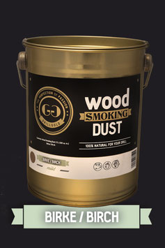 Wood Smoking Dust / Birke / 2 Liter