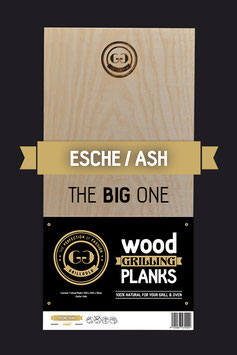"""Wood Grilling Plank """"The Big One"""" / Esche"""