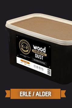 Wood Smoking Dust / Erle / 5,5 Liter