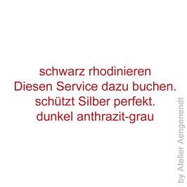 Service Schwarzrhodium