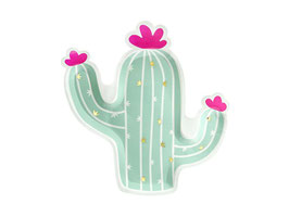 Plato Cactus Mint / 6 uds.