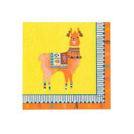 Pack Servilletas Llama Boho