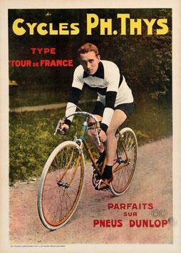 c1920s Cycles Ph.Thys/Dunlop Tyres