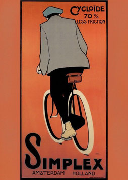 c1920s Simplex Dutch Advertising Poster