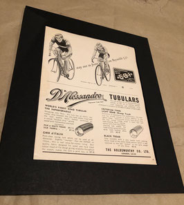 1960s D'Alessandro/Reynolds Original Card Mounted Printed Advertisement...