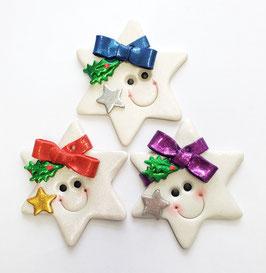 Happy Face Star Ornament