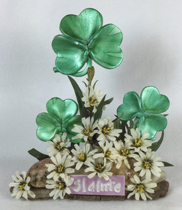 Slainte Shamrock Sculpture