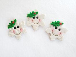 Happy Snowflake Pin