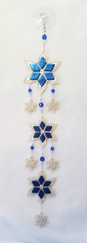 Handcrafted Multi-Snowflake Sun Catcher