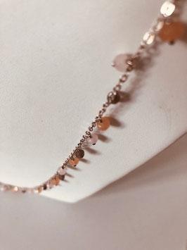 Kette mit Perlen von Pink Sand