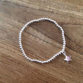 elastisches Armband mit Stern